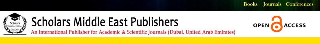 Scholars Middle East Publishers
