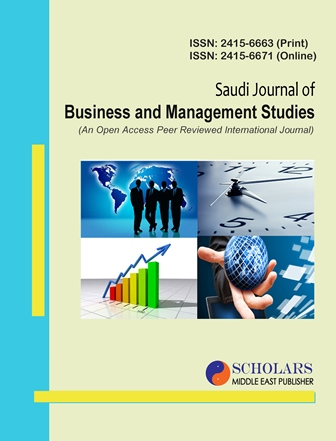 Saudi Journal of Business and Management Studies – Scholars